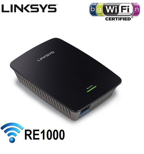 repetidor extensor wireless n linksys cisco wifi re1000 300m
