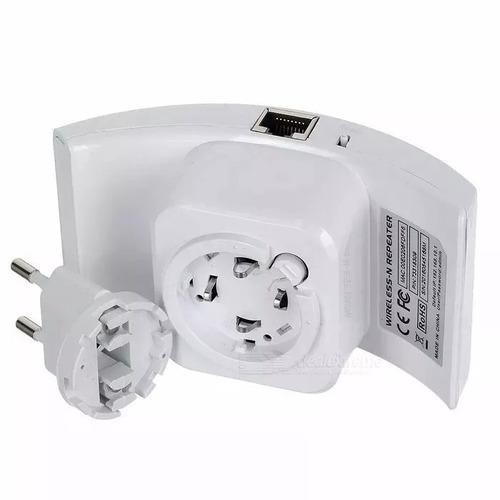 repetidor roteador amplificador sinal wifi 300mbps wireless