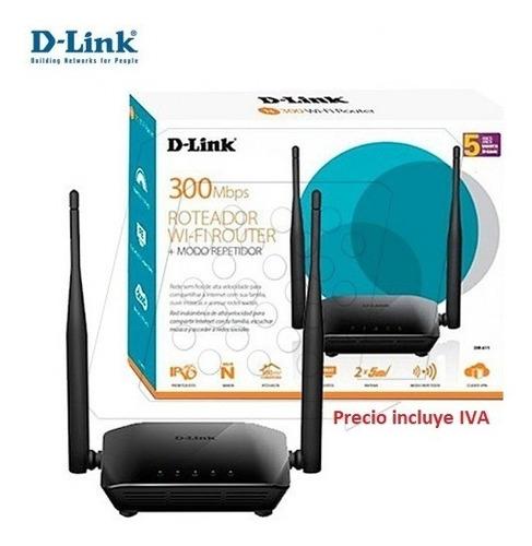 repetidor router 2en1 extensor wifi d-link amplia señal