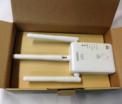 repetidor, router ac750 wifi 5 ghz ,3 antenas, aukey wifi ac