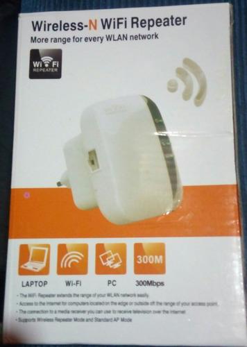 repetidor wi-fi y mini router a la vez.