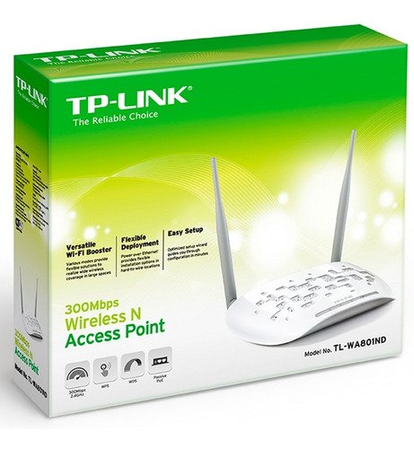 repetidor wifi access point tp-link tl-wa801nd n 300mbps