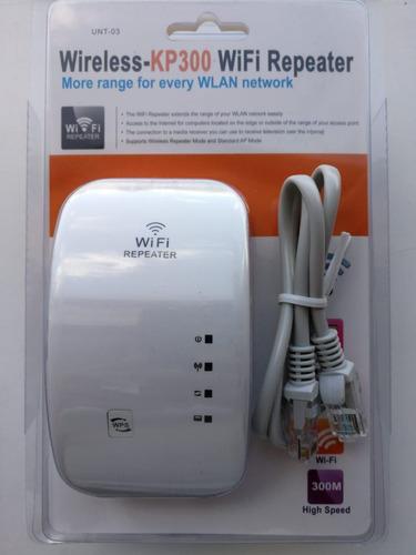 repetidor wifi amplificador repartidor de señal 300mbp