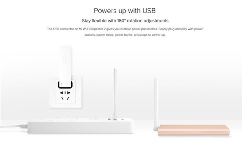 repetidor wifi extensor amplificador 300mts xiaomi version 2