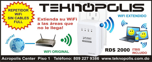 repetidor wifi inalambrico full