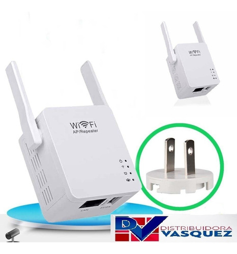 repetidor wifi router doble potente alcance mbps usb 5v