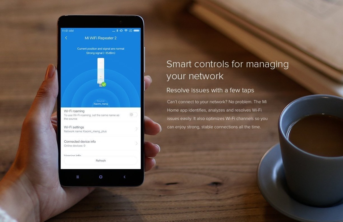 Repetidor Xiaomi Mi Wifi 2 Usb 300 Mbps Versao 2 Original