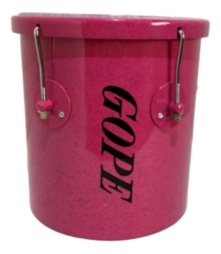 repique de mão gope 10 pol. 30cm rosa store lal3010rmrbrb