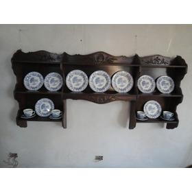 Repisa Antigua Provenzal, Mueble De Colgar Gran Tamaño