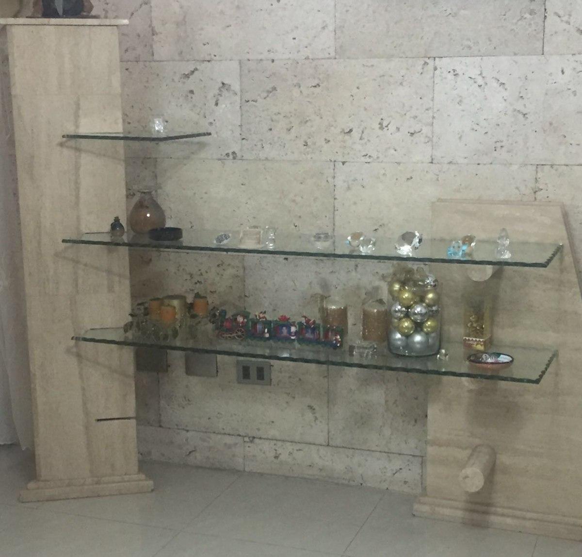 Repisa Base Marmol Vidrio Bs En Mercado Libre