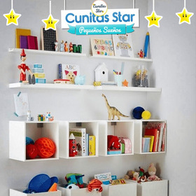 Repisa Con Diseño Infantil. Ri-01 | Cunitas Star