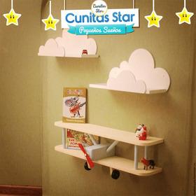 Repisa Con Diseño Infantil. Ri-04 | Cunitas Star