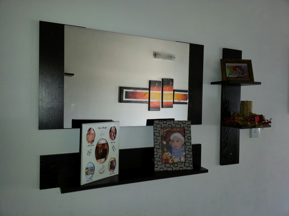Repisa Con Espejo Multifuncional Bs 380 00 En