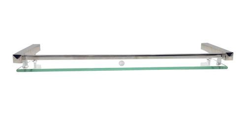 repisa de lujo en vidrio 49 cm, alta calidad