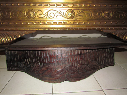 repisa de madera  colonial