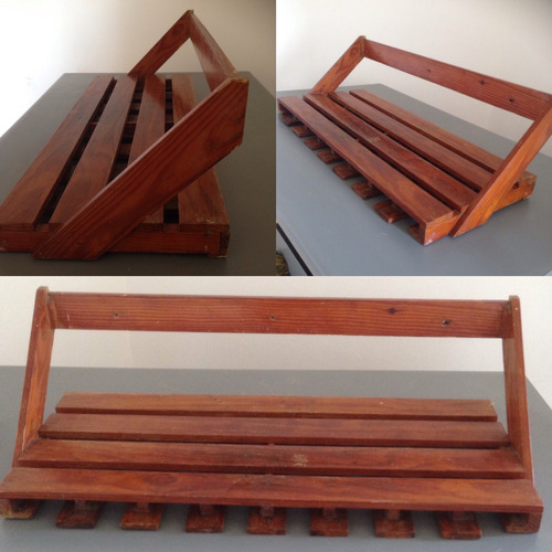 Repisa de madera estilo bar bs en mercado libre for Bar de madera mercadolibre