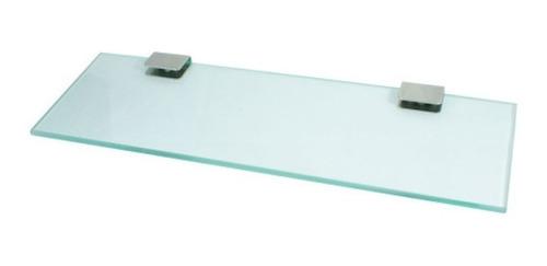 repisa de vidrio cristal 40x13 cm sin bordes daccord oferta