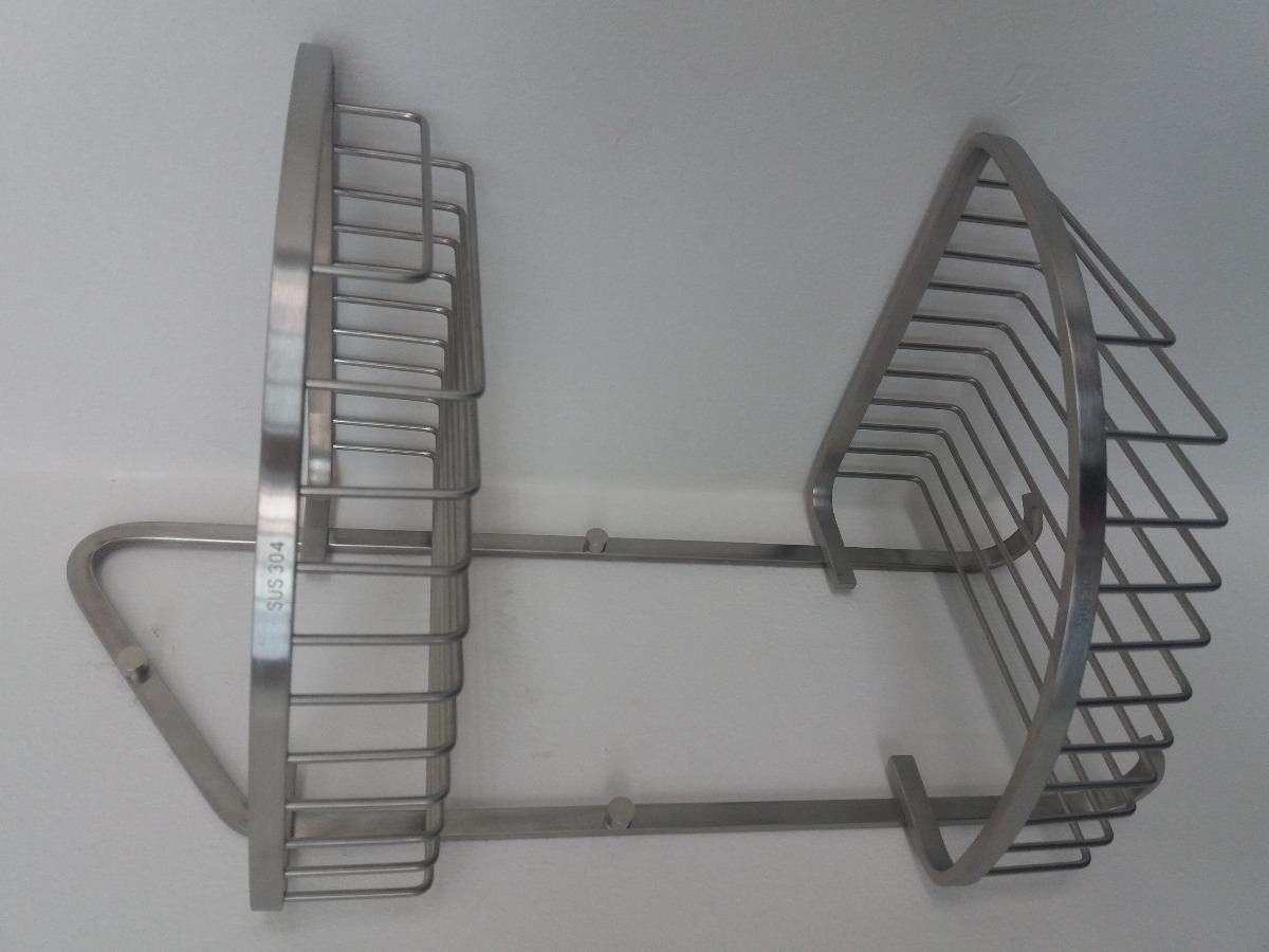 Repisa Esquinero Acero Inoxidable Para Ducha -   30.000 en Mercado Libre 81d9a37a062a