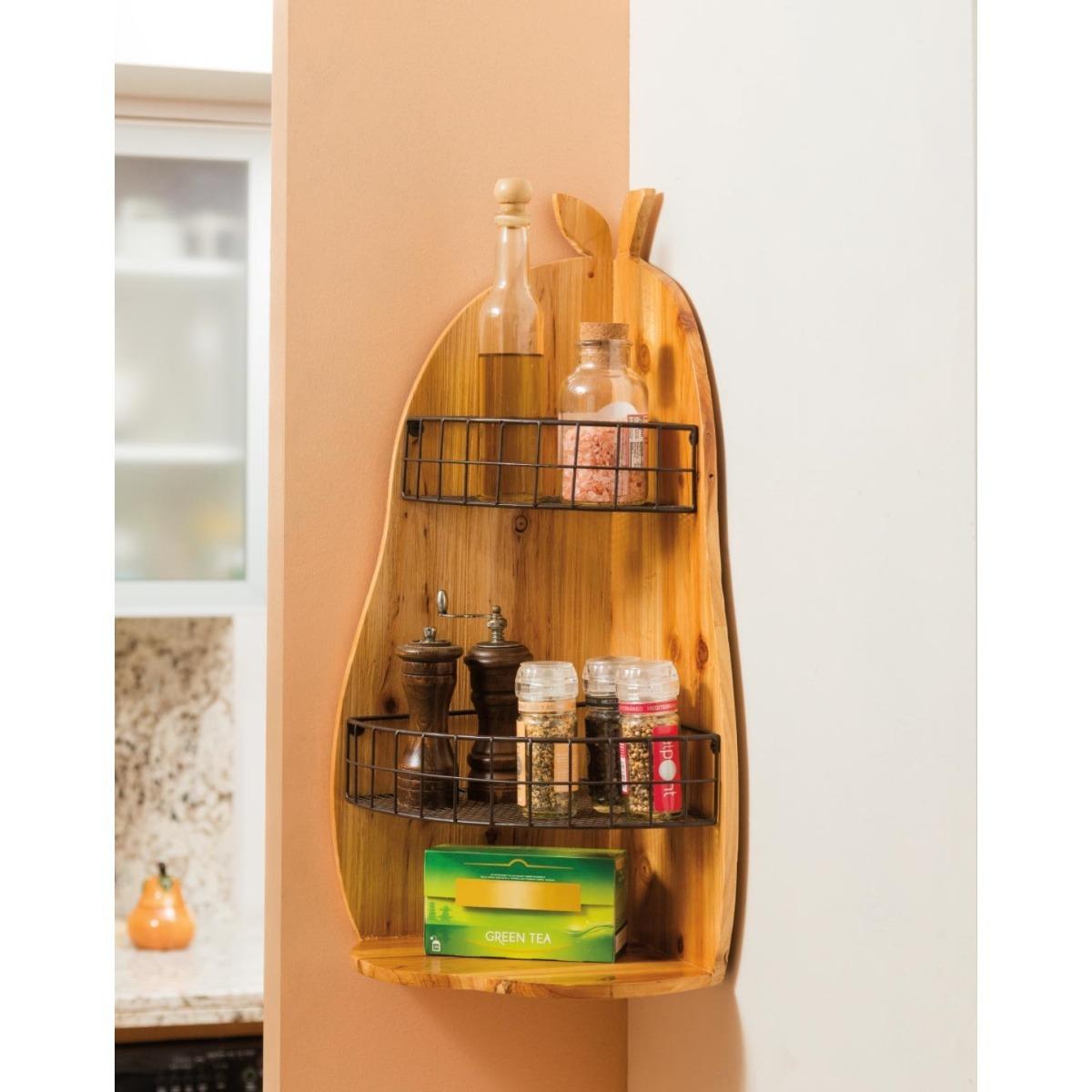 Repisa esquinero almac n para cocina o casa delicia de for Almacen para cocina