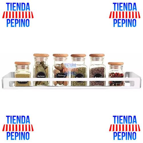 repisa estante especiero cocina muett inox tienda pepino