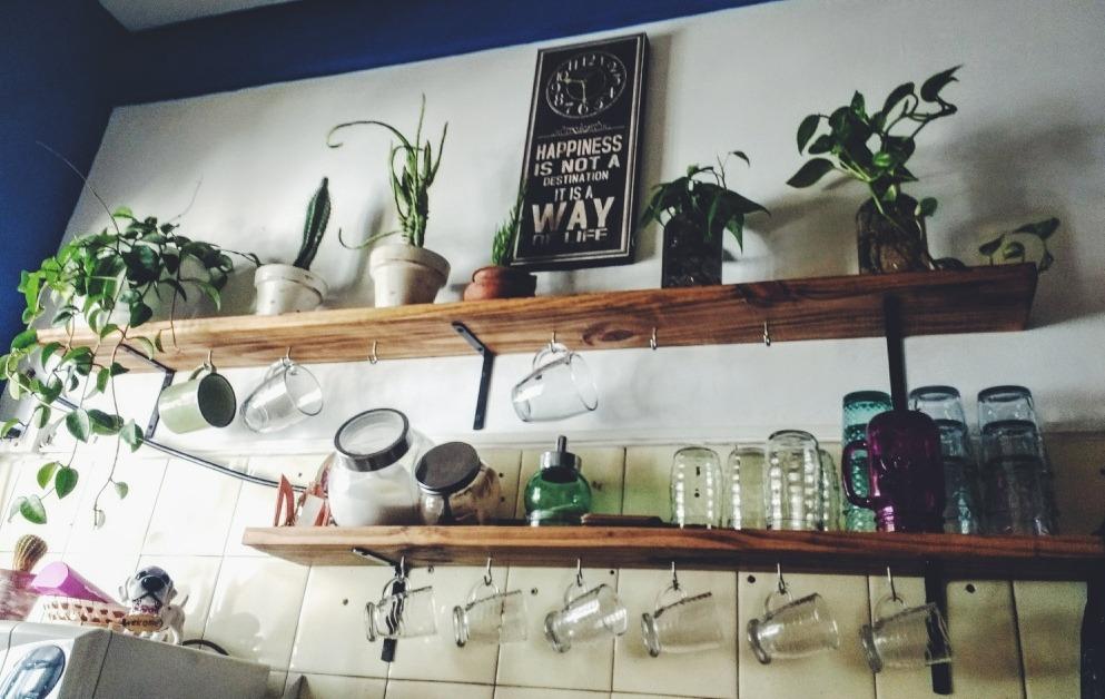 repisa estante estilo industrial vintage cocina. Cargando zoom. 7dae8808aba5