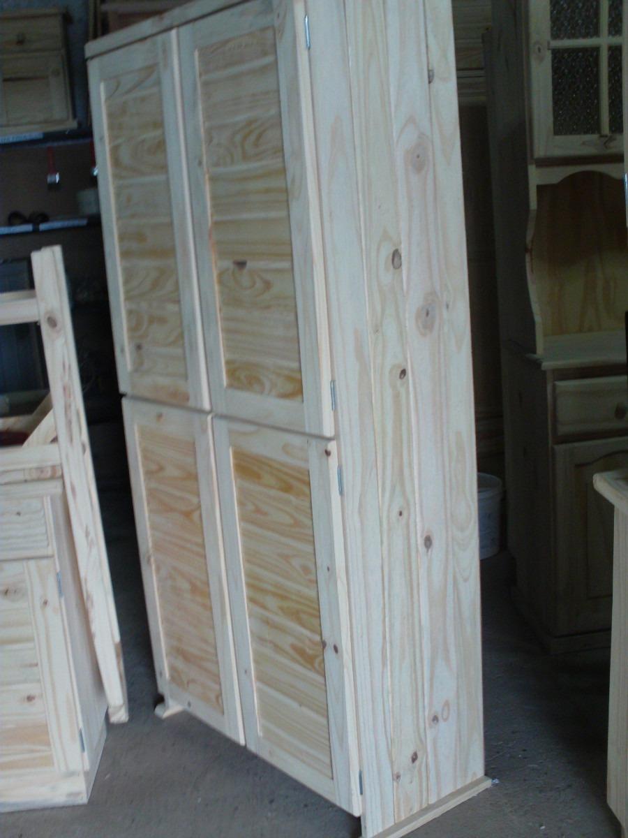 Repisa estanteria biblioteca 4 puertas de madera maciza for Puertas de madera maciza