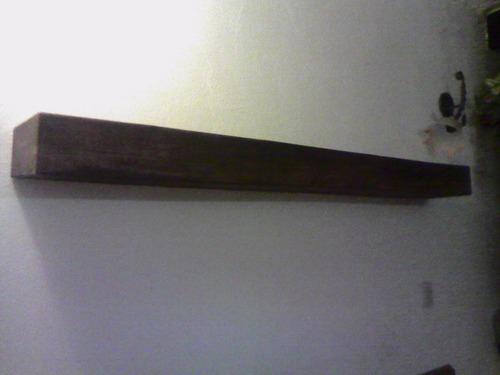 repisa flotante de madera de pino (clasica)