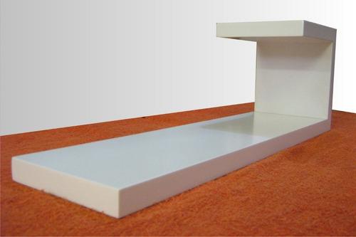repisa flotante, estilo minimalista # modelo  j