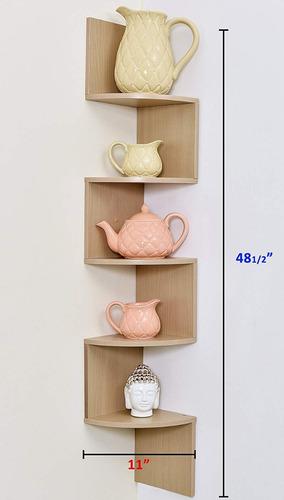 repisa flotante librero esquinero pared *envio gratis