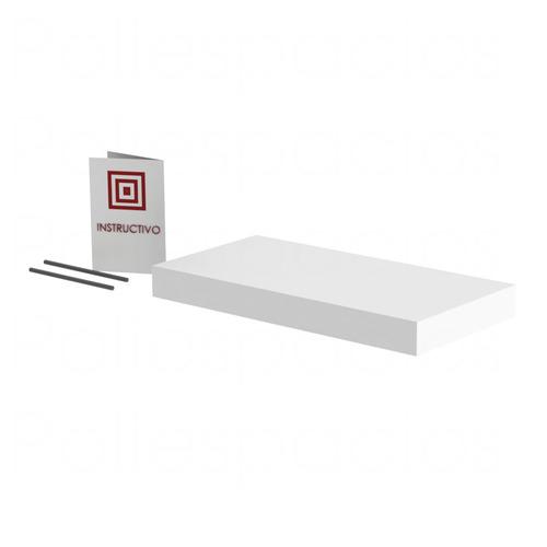 repisa flotante minimalista moderna decorativa 40x20 gruesa