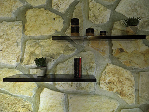 repisa flotante minimalista sencilla 30 cm x 15 cm