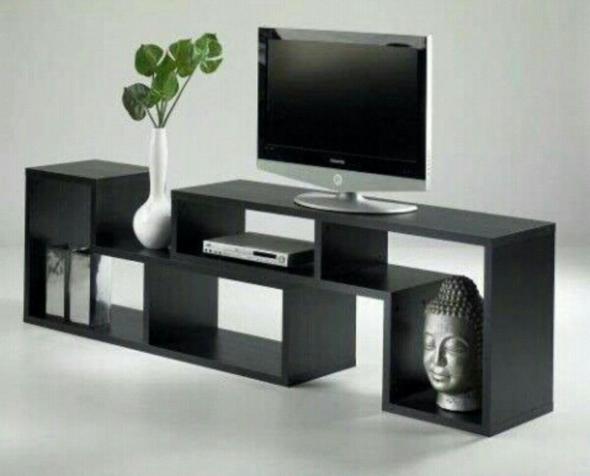 Repisa flotante para televisor bs en mercado for Como hacer muebles modernos