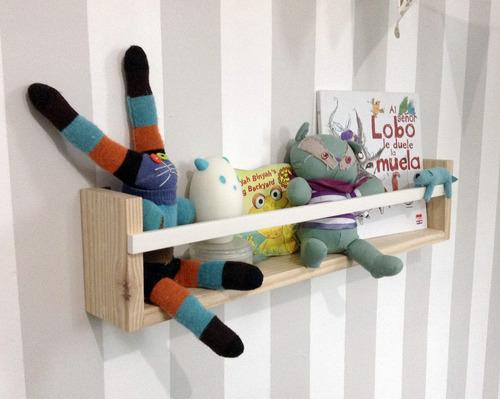 Repisa infantil, cuarto del bebe, juguetero librero nordico ...