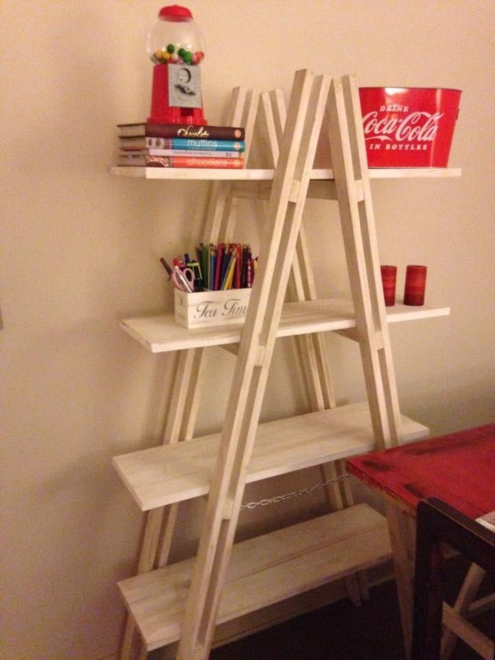 Repisa librero plegable 100 madera en mercado for Habitat store muebles