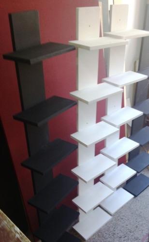 repisa minimalista estantes suspendidos  espectacular!!