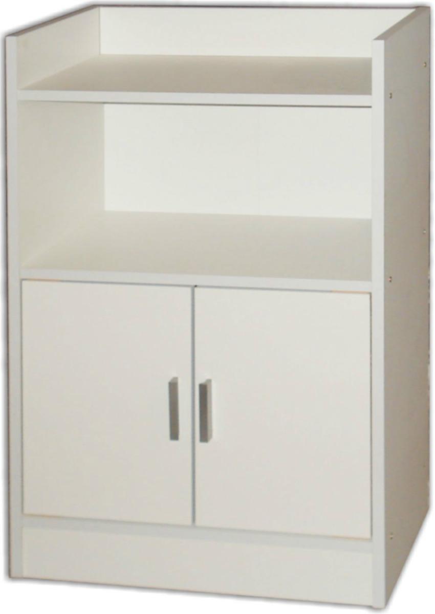 Repisa mueble ba o cocina mobelstore blanco o casta o for Muebles bano montevideo