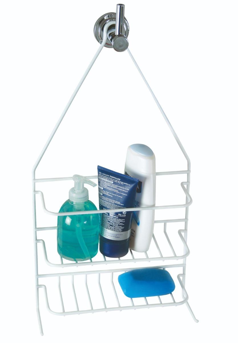 repisa organizador ducha baño alambre cubierto en pvc 208. Cargando zoom. c2113df361a1