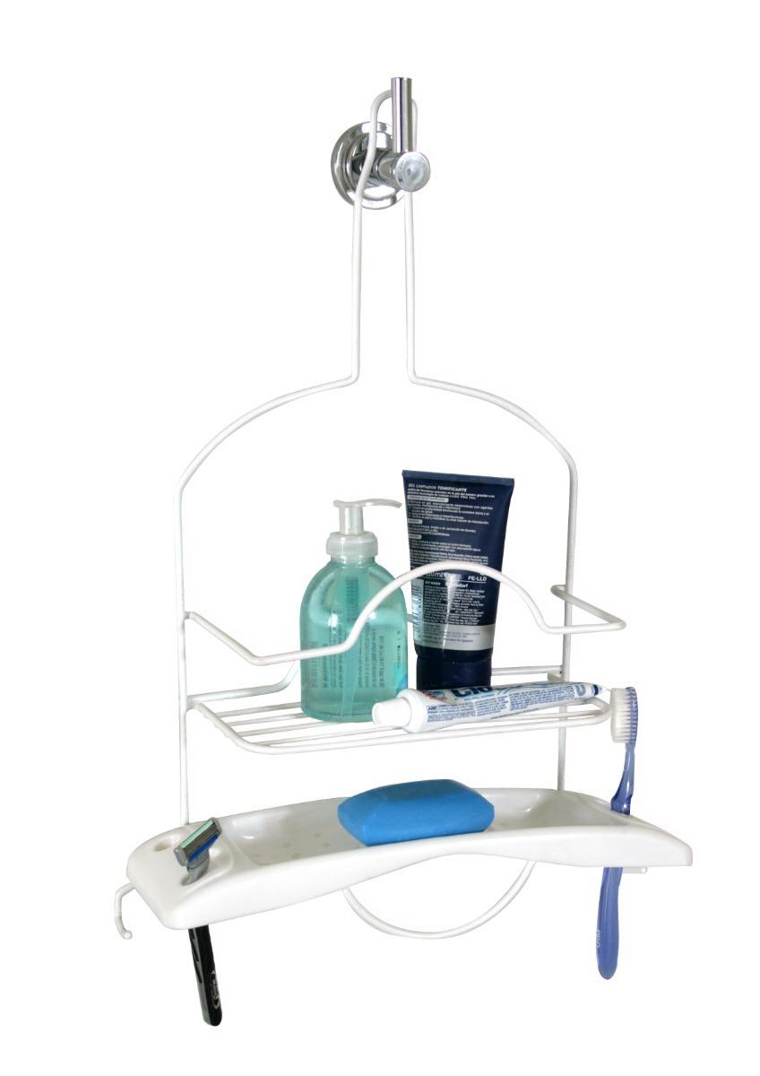 repisa organizador ducha baño alambre pvc 219. Cargando zoom. 5d04894dfa75