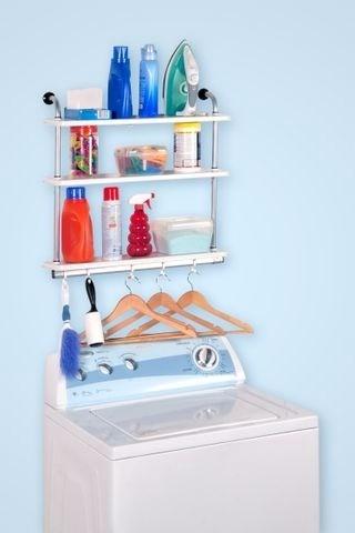 Repisa para ba o konekte ideal para lavanderia y cocina Repisas para bano easy