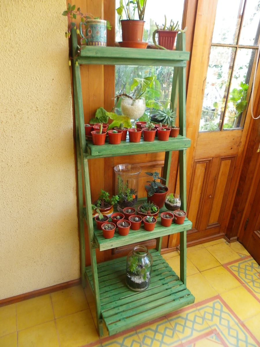 Repisa para plantas en mercado libre for Muebles para plantas
