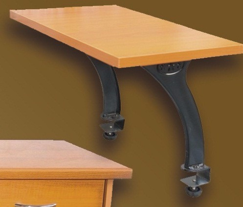 Repisa para soporte de impresora para mesa de computadora for Diseno de mesa para computadora