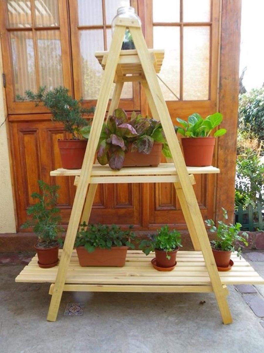 Repisa Terraza Plantas 70 000 En Mercado Libre # Muebles Piramides