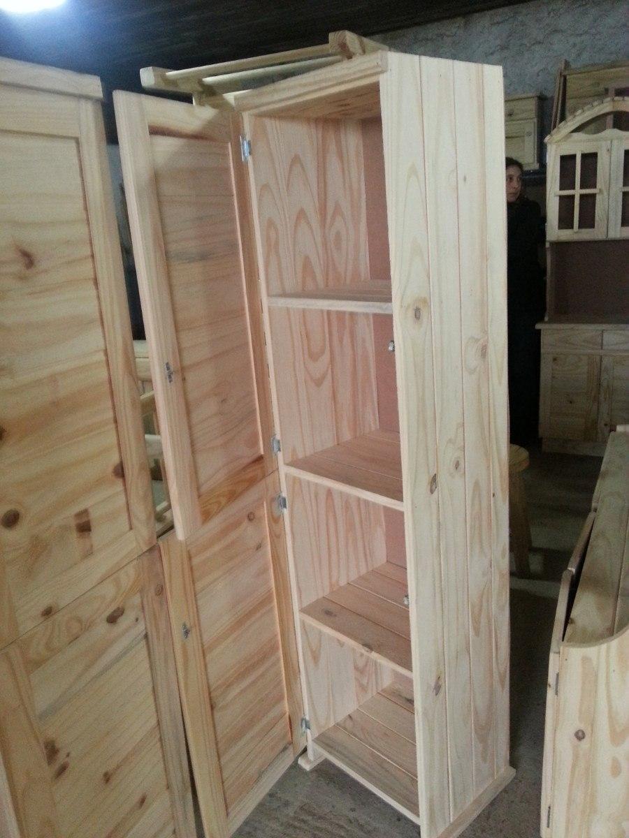 Repisa estanteria biblioteca con 2 puertas de madera for Precio puerta madera maciza