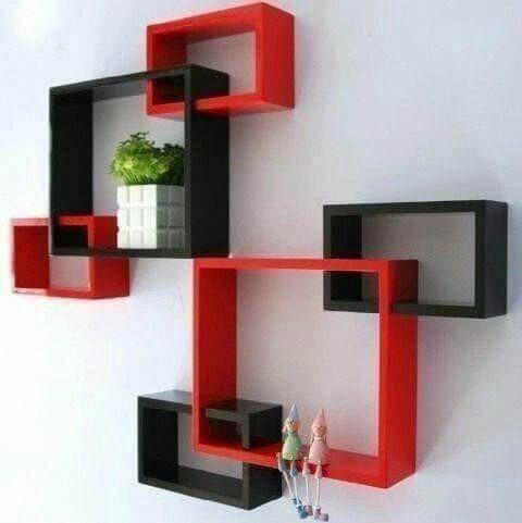 repisas cubos decorativos melamina