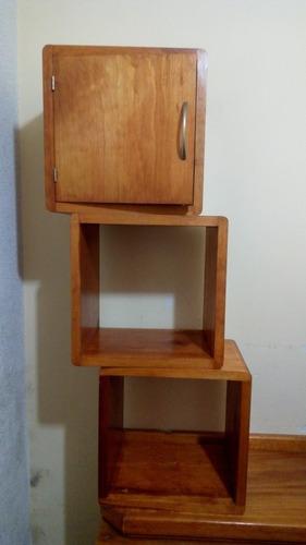 repisas cubos minimalistas