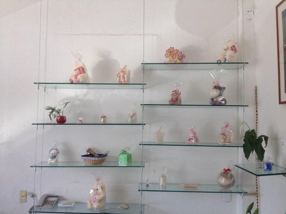 Repisas de cristal templado en mercado libre for Modelos de comedores de vidrio