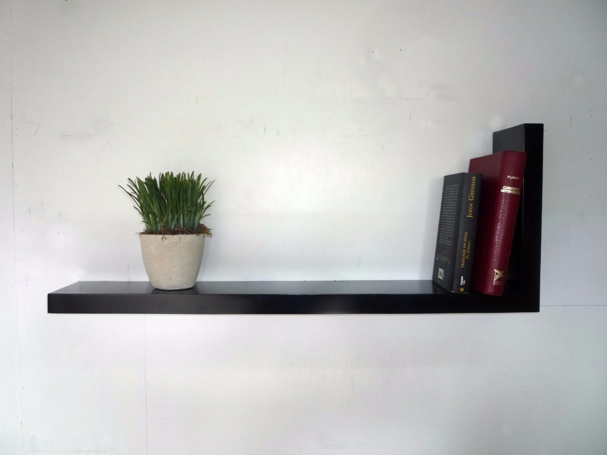 Repisas estantes flotantes o con m nsulas 420 00 en mercado libre - Estantes de pared originales ...