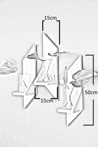 repisas flotantes decorativas modernas  mdf