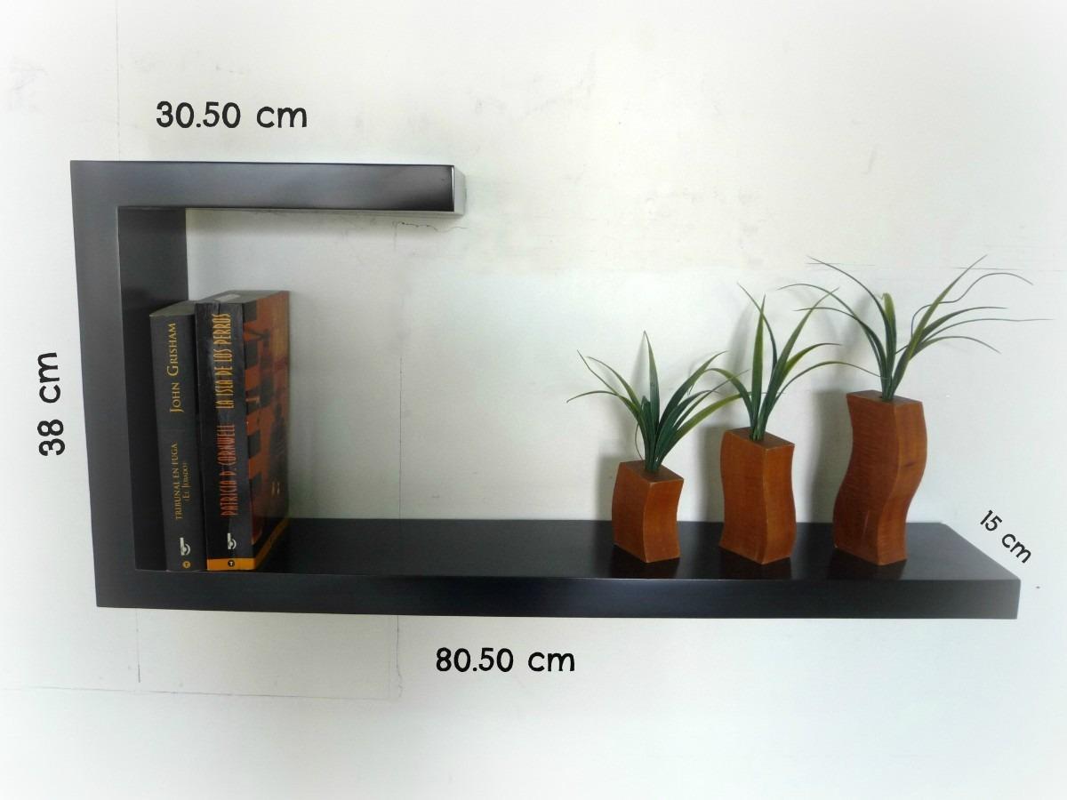 Repisas flotantes minimalistas forma j muebles el angel - Repisas de pared modernas ...