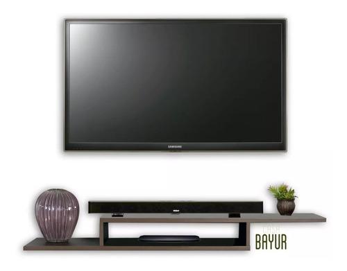 repisas flotantes mueble tv decoracion moderna